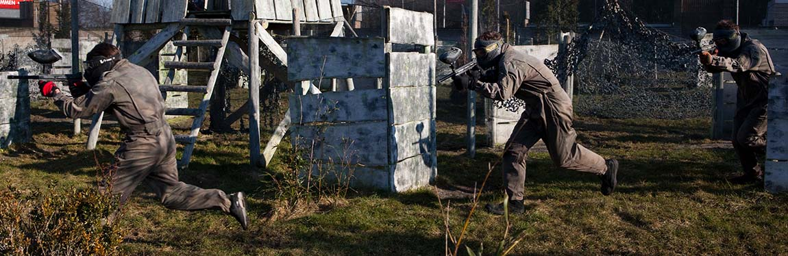 Outdoor Paintball € 17,50 p.p.